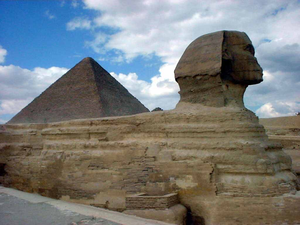 Der Sphinx in Gizeh (Kairo)