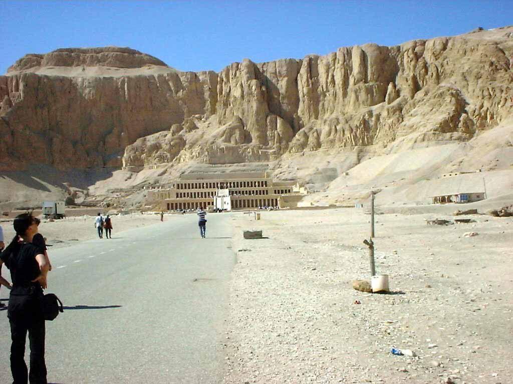 Tempel der Hatschepsut in Luxor