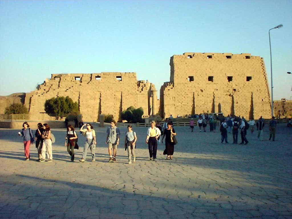 Eingang zum Karnak Tempel in Luxor
