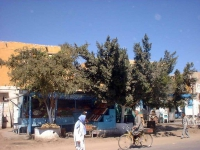 Straßenszene in El Quseir