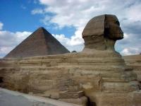 Der Sphinx in Gizeh (Kairo)