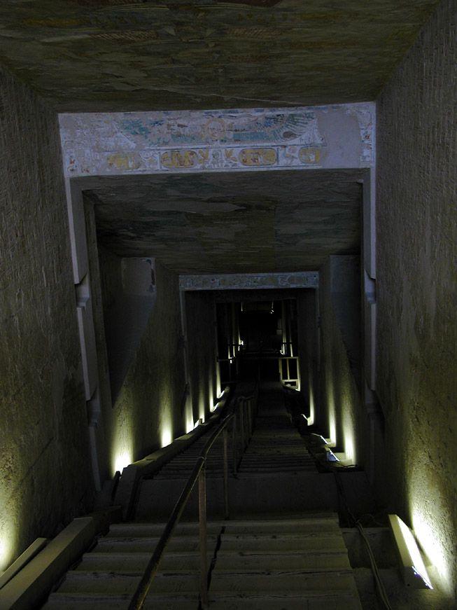 Eingang zum Grab des Merenptah