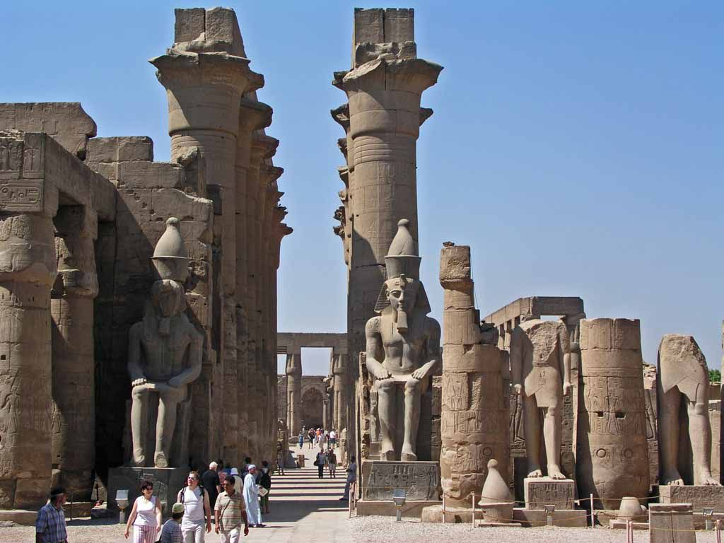 Luxor, im Luxor Tempel