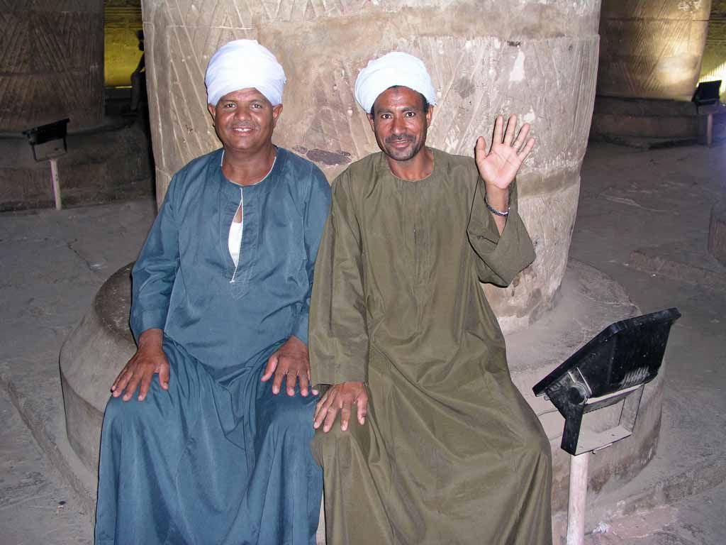 Edfu, Wächter im Horustempel