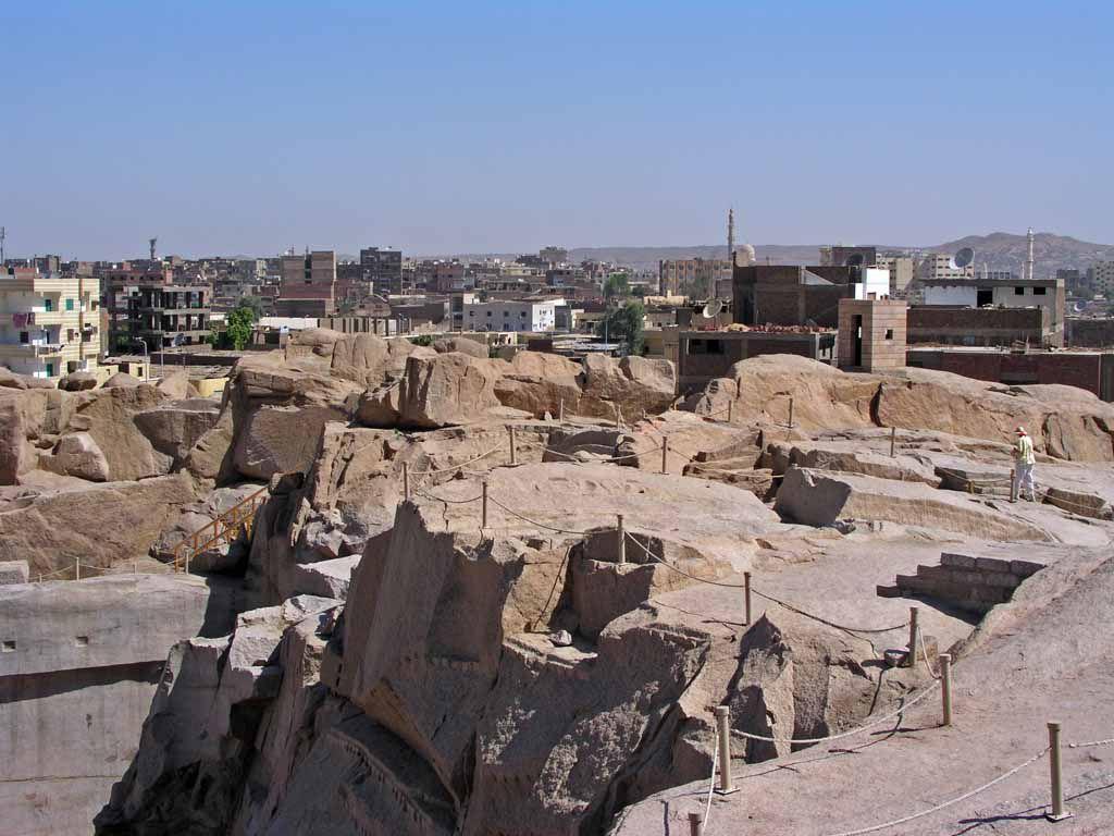 Assuan, Steinbruch der alten Ägypter