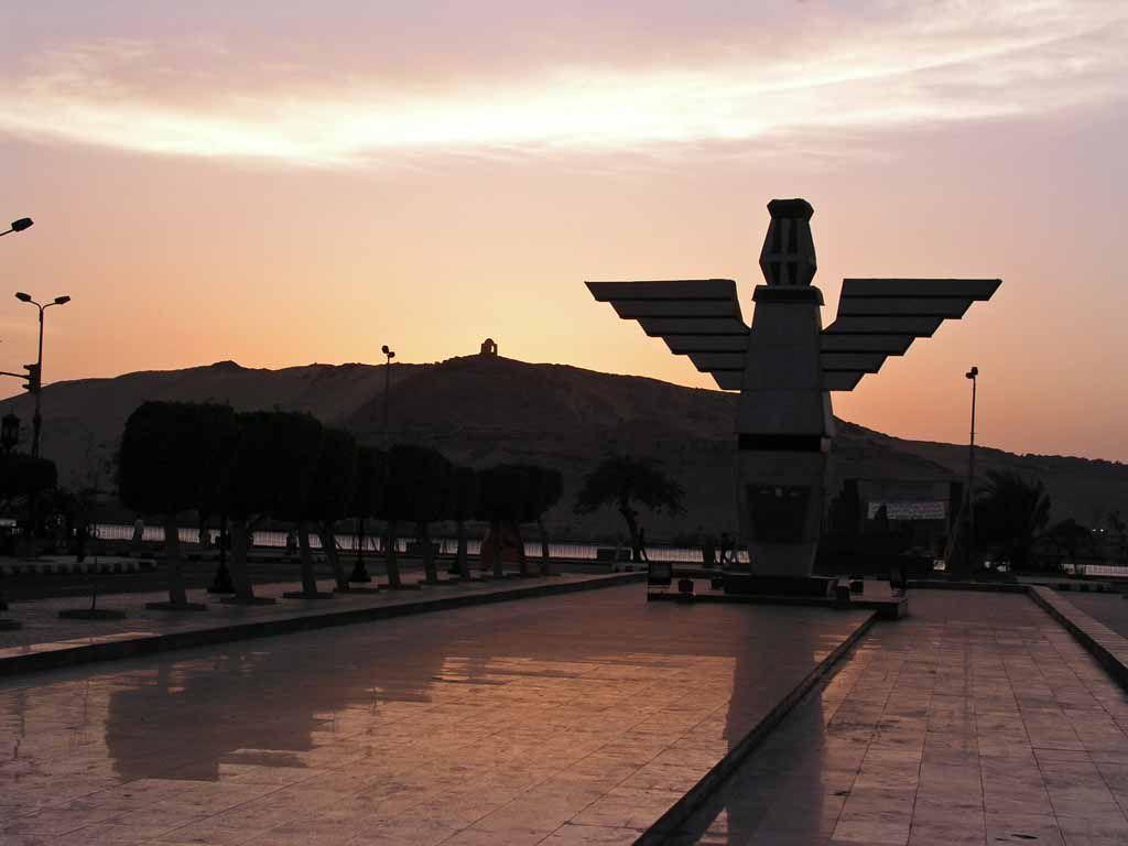 Assuan, Sonnenuntergang