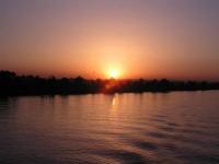 Nil, Sonnenuntergang