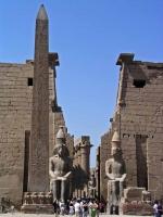 Luxor, Eingang des Luxor Tempels