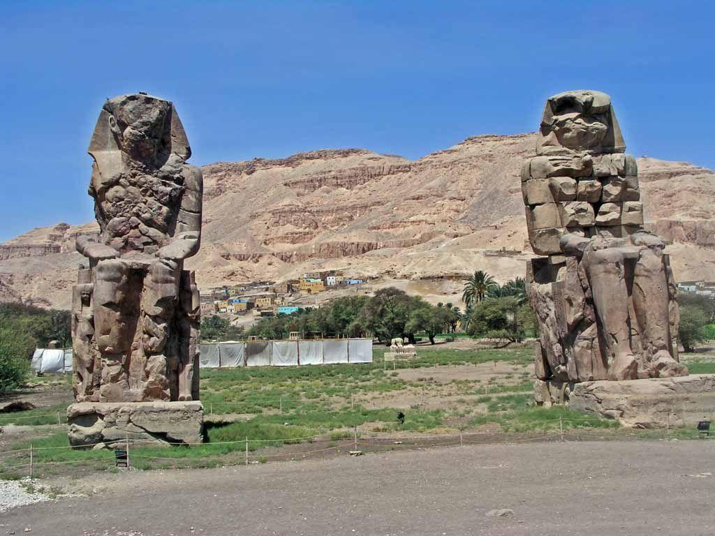 Luxor, Memnon Kolosse