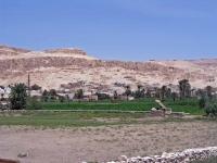 Luxor, Westseite des Nils