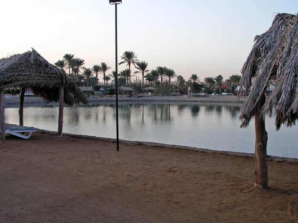Hurghada, Hotel Aladdin Beach, Anlage