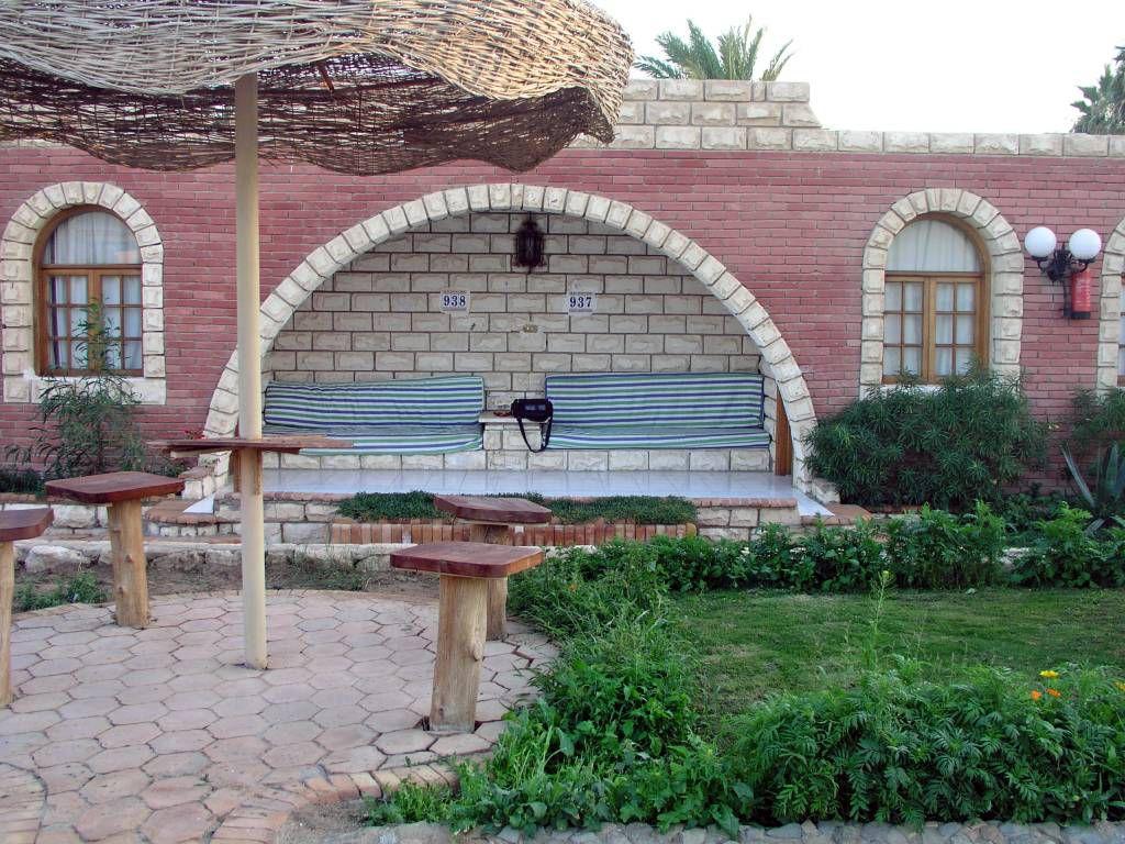Hurghada, Hotel Aladdin Beach, Zimmereingang