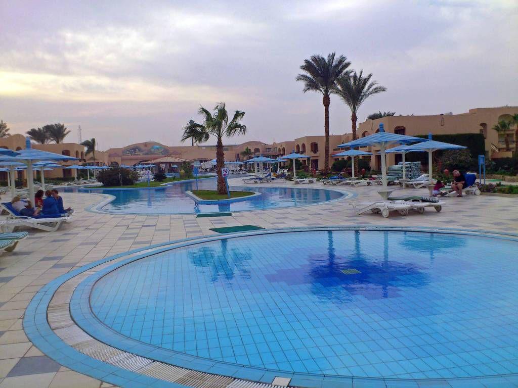 Hurghada, Hotel Ali Baba, Pool
