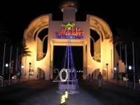 Hurghada, Hotel Aladdin Beach, Eingang