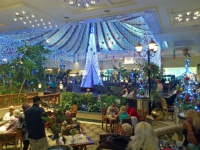 Hurghada, Hotel Ali Baba, Weihnachtsdekoration