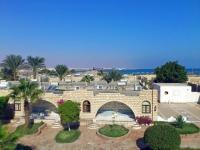 Hurghada, Hotel Aladdin Beach, Blick über die Anlage