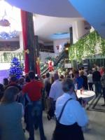 Hurghada, Hotel Aladdin Beach, Weihnachtsfeier