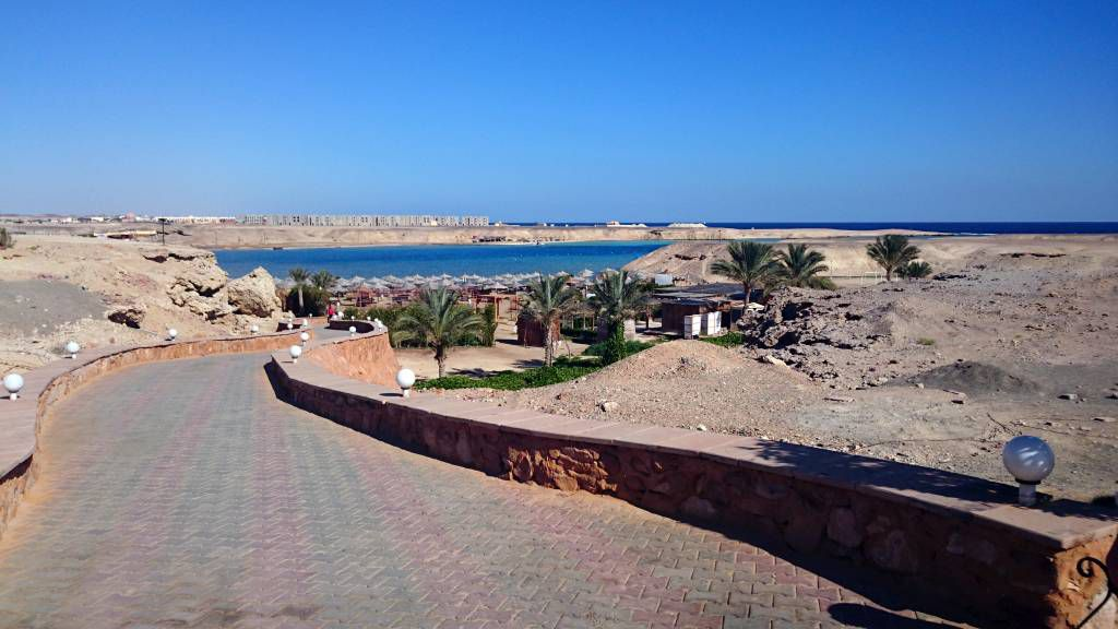 Marsa Alam, Aurora Bay Resort, Hotelstrand