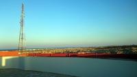 Marsa Alam, Aurora Bay Resort, Blick vom Dach Richtung Südosten
