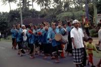 Bali, Hochzeitszug