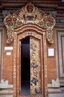 Ubud, prunkvolle Tür