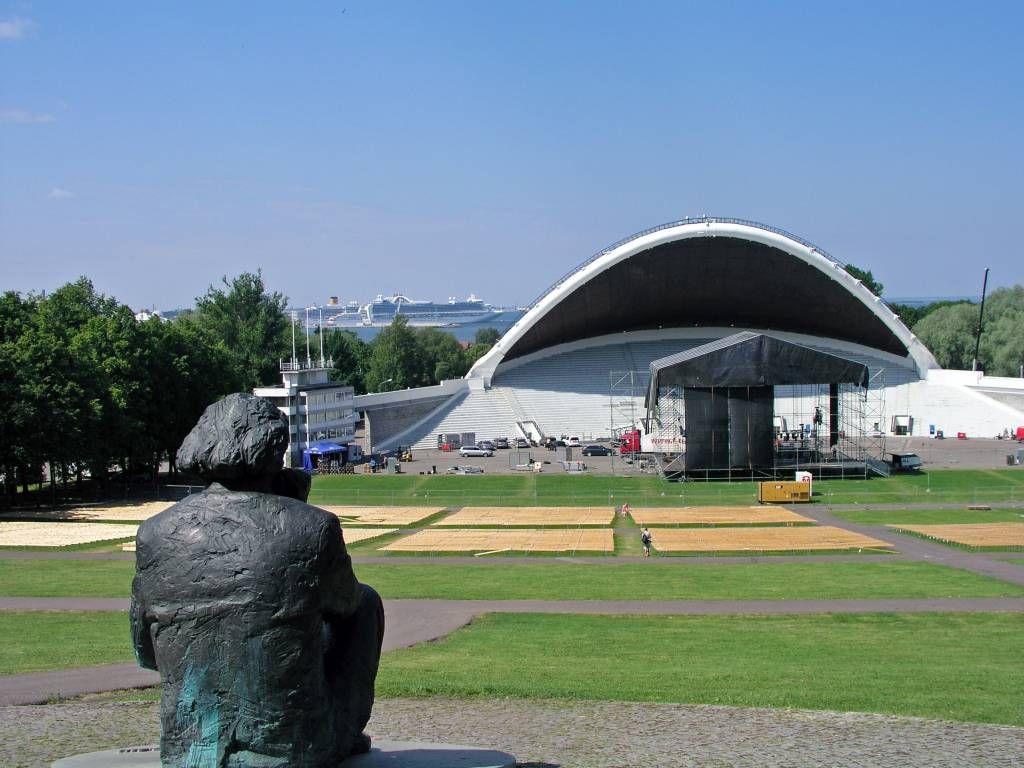 Tallinn, Musikfestivalgelände