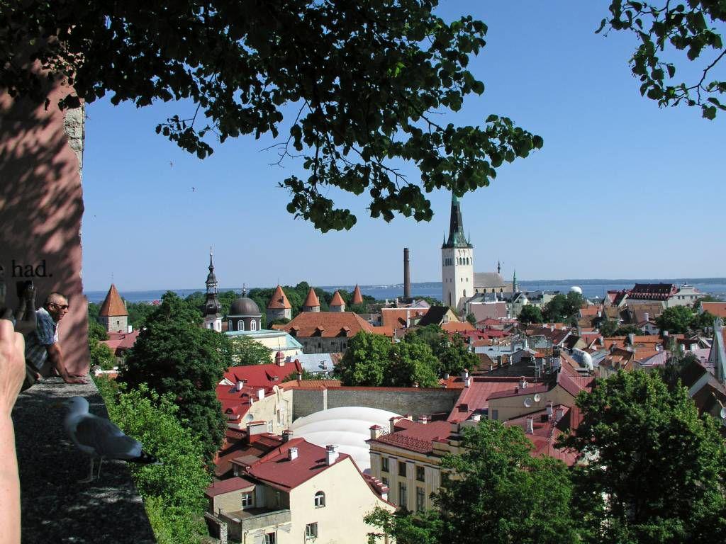 Tallinn, Blick über die Stadt