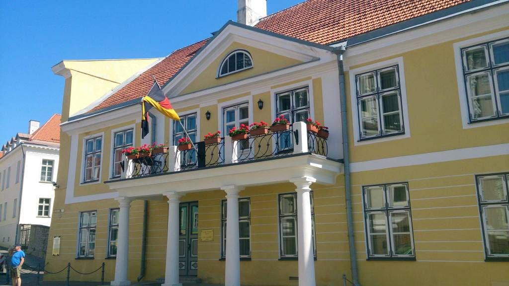 Tallinn, die Deutsche Botschaft