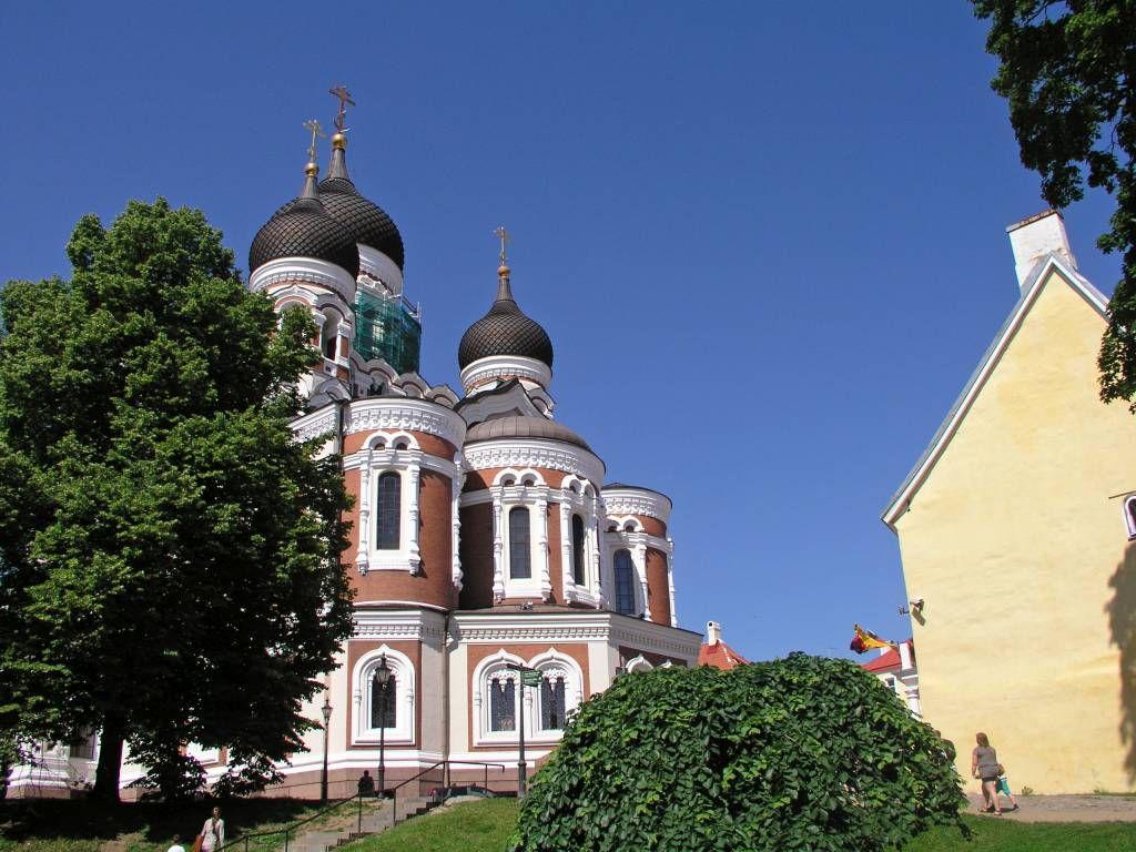 Tallinn, Blick auf die Kathedrale