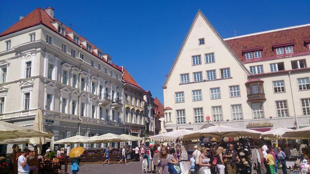 Tallinn, Rathausplatz