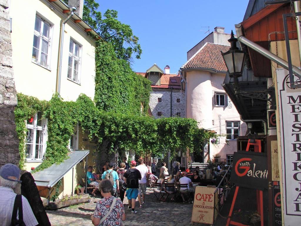 Tallinn, in der Altstadt