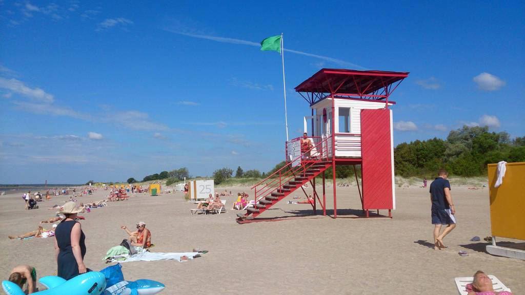 Pärnu, Strand