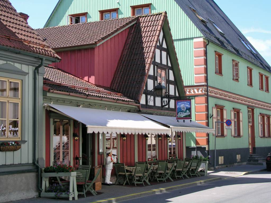 Pärnu, Gaststätte