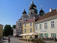 Tallinn, Kathedrale und Gaststätten
