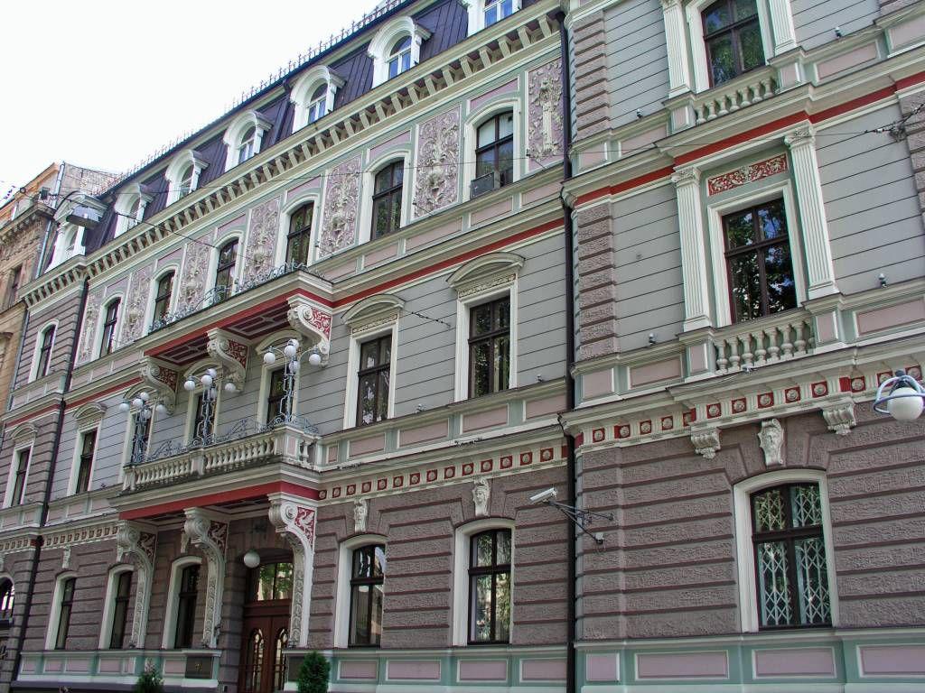 Riga, Jugendstilvilla