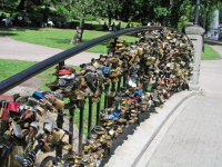 Riga, Park am Basteiberg, Schlösser