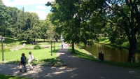 Riga, Park am Basteiberg