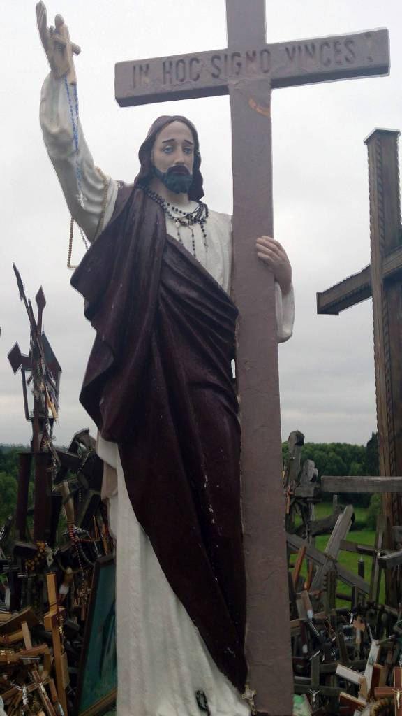 Siauliai, Berg der Kreuze