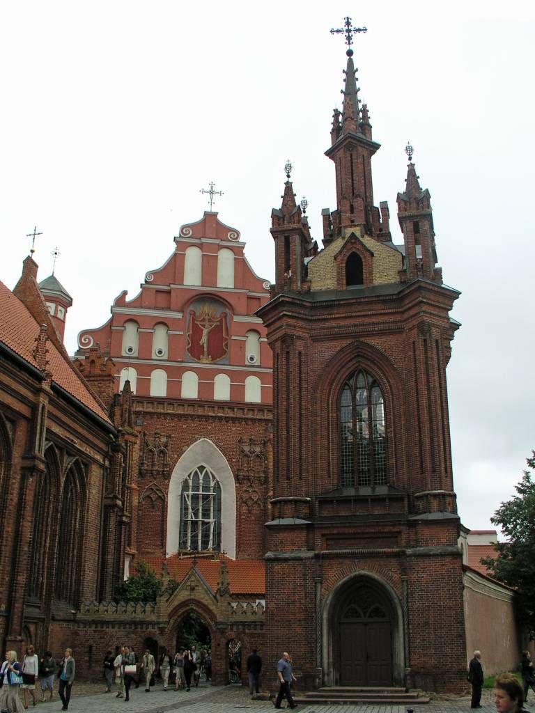Vilnius, St. Anna Kirche