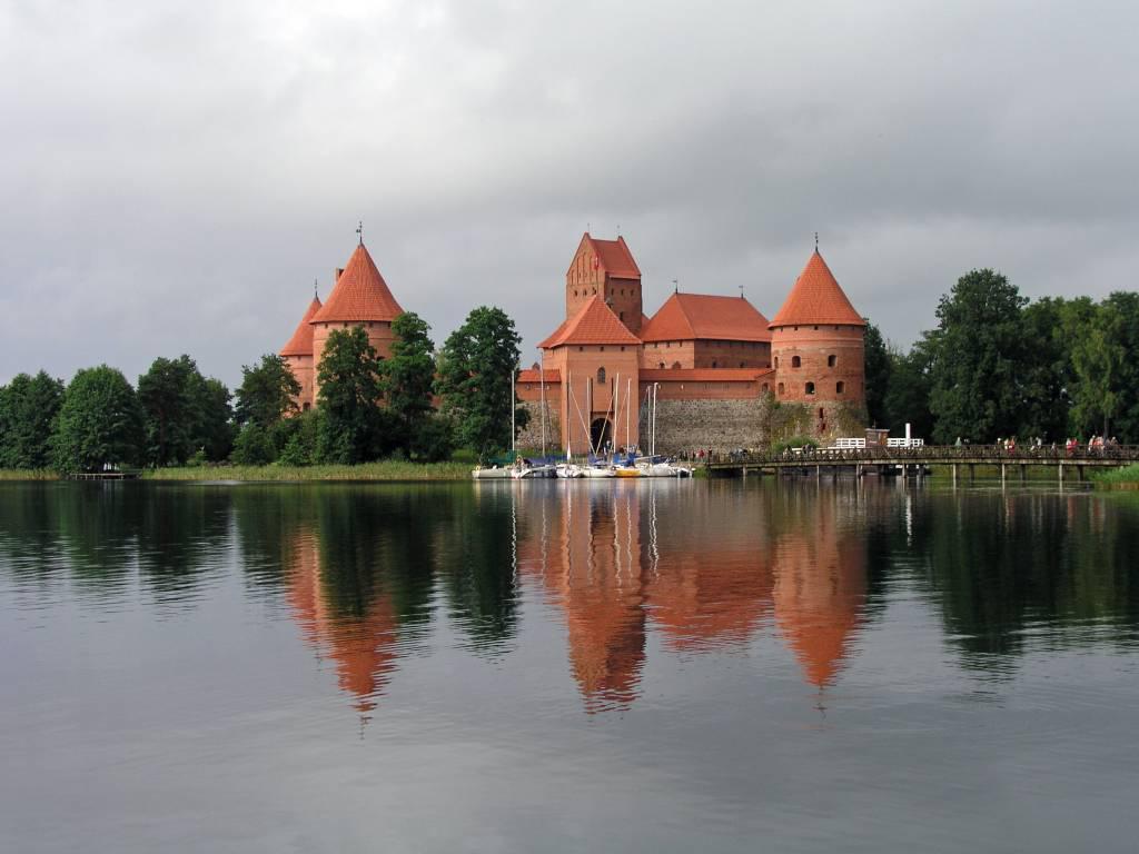 Trakai, Wasserburg