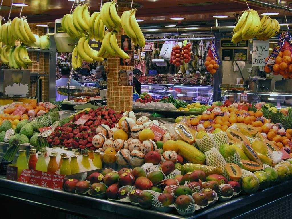 Barcelona, Mercado de la Boqueria