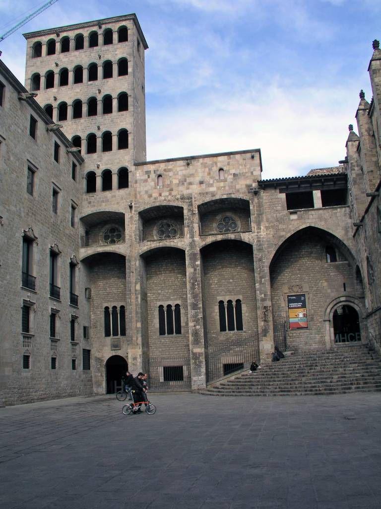 Barcelona, Plaça del Rei