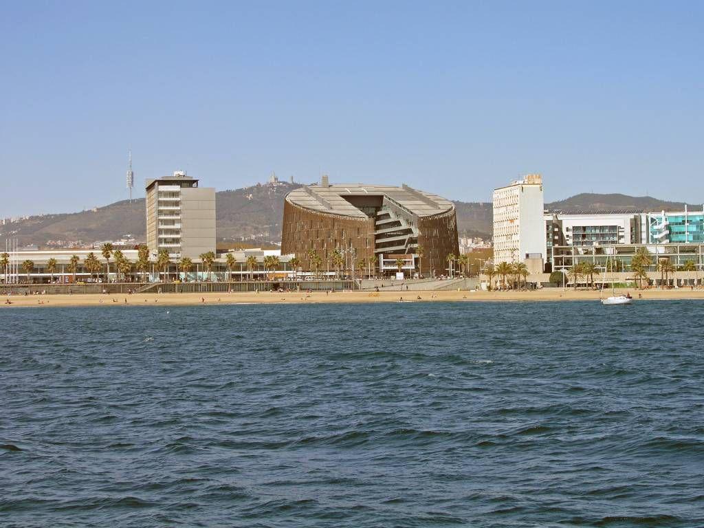 Barcelona, Blick während der Hafenrundfahrt