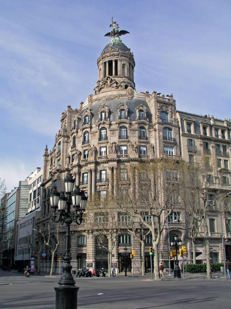 Barcelona, Gebäude am Passeig de Gràcia