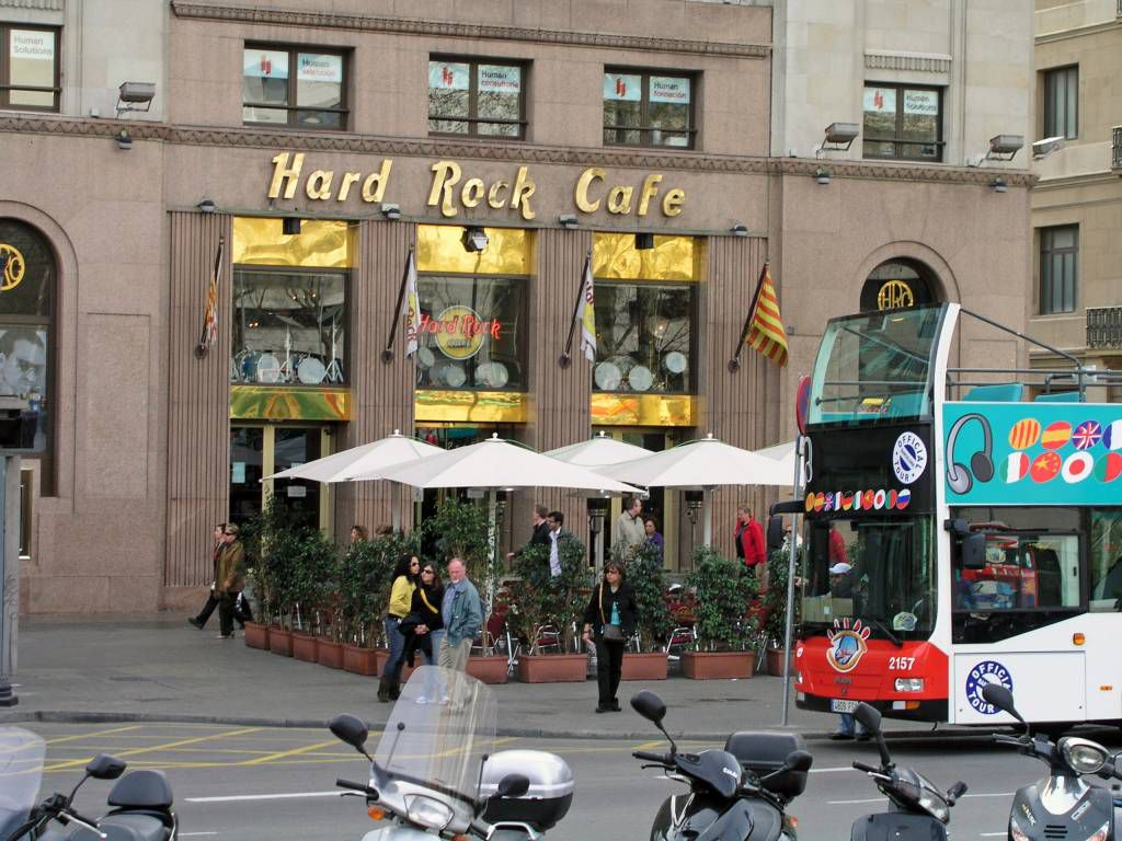 Barcelona, Hard Rock Cafe