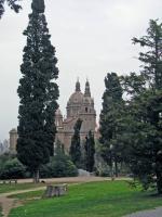 Barcelona, im botanischen Garten Montjuic