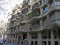 Barcelona, Casa Milà