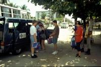 In Recife, Polizeikontrolle