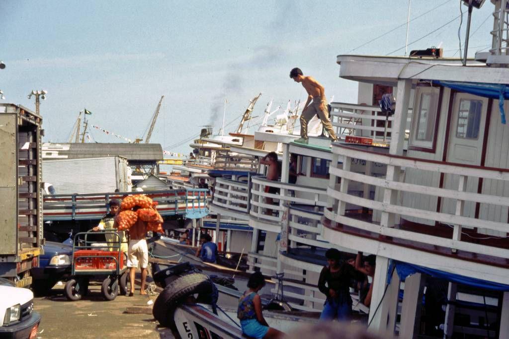 Manaus, Amazonasschiffe