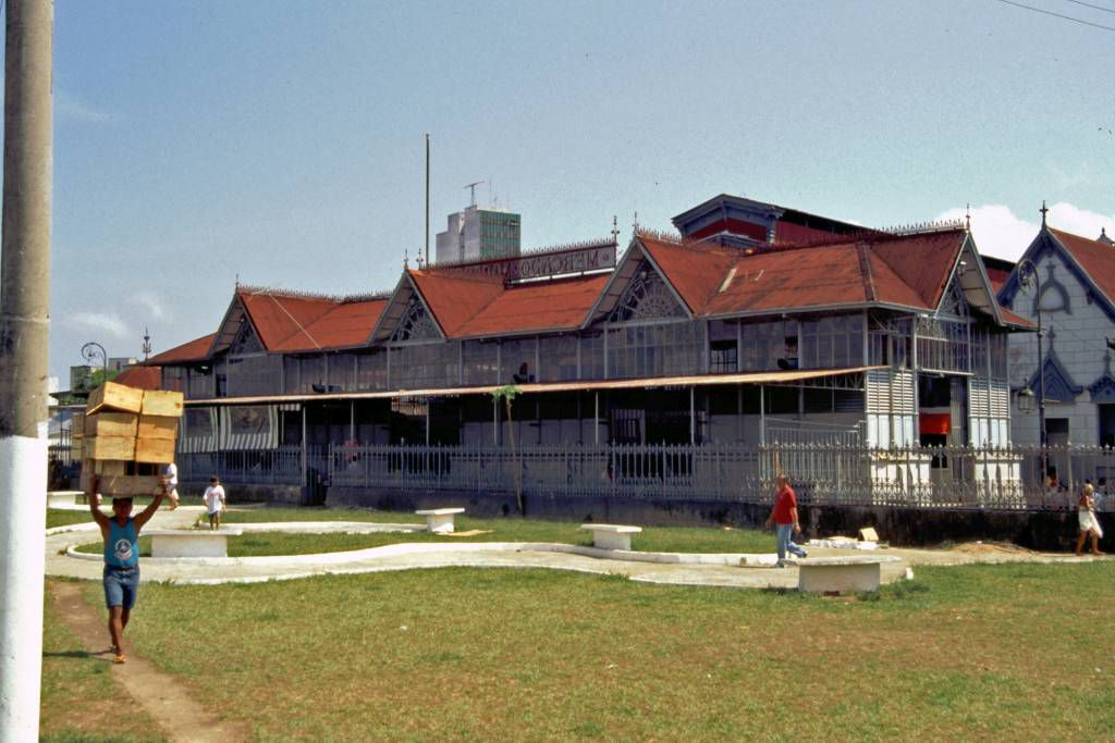 Manaus, die alte Markthalle